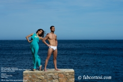 him: Yamamay swimwear, her: Zara dress, Martinelli shoes, Stradivarius necklace and braceletModels: Carlos López RdSara CelaMUA: http://www.saracelamakeup.com/